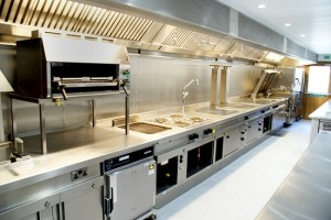 Catering accidents - slipping on wet surfaces